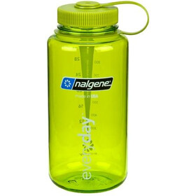 Nalgene 1L Wide Mouth Bottles Spring Green Tritan (2022)